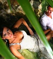 Riviera maya wedding photo shoot