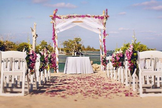 hacienda tres rios beach wedding