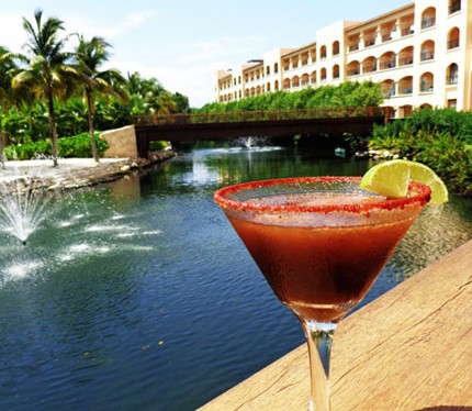 tropical drinks Riviera Maya