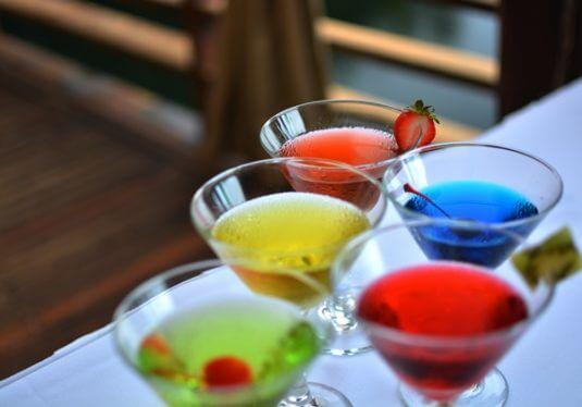 martini tasting Riviera Maya