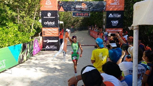 winner triathlon Hacienda Tres Rios 2017